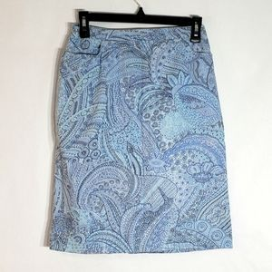 Notations Sport size Small Paisley Skirt pockets